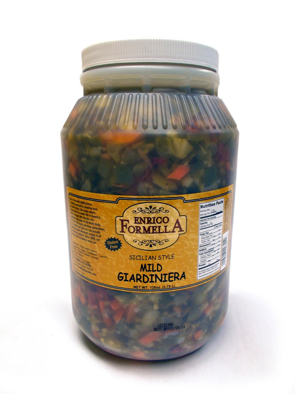 Gallon-size Giardiniera